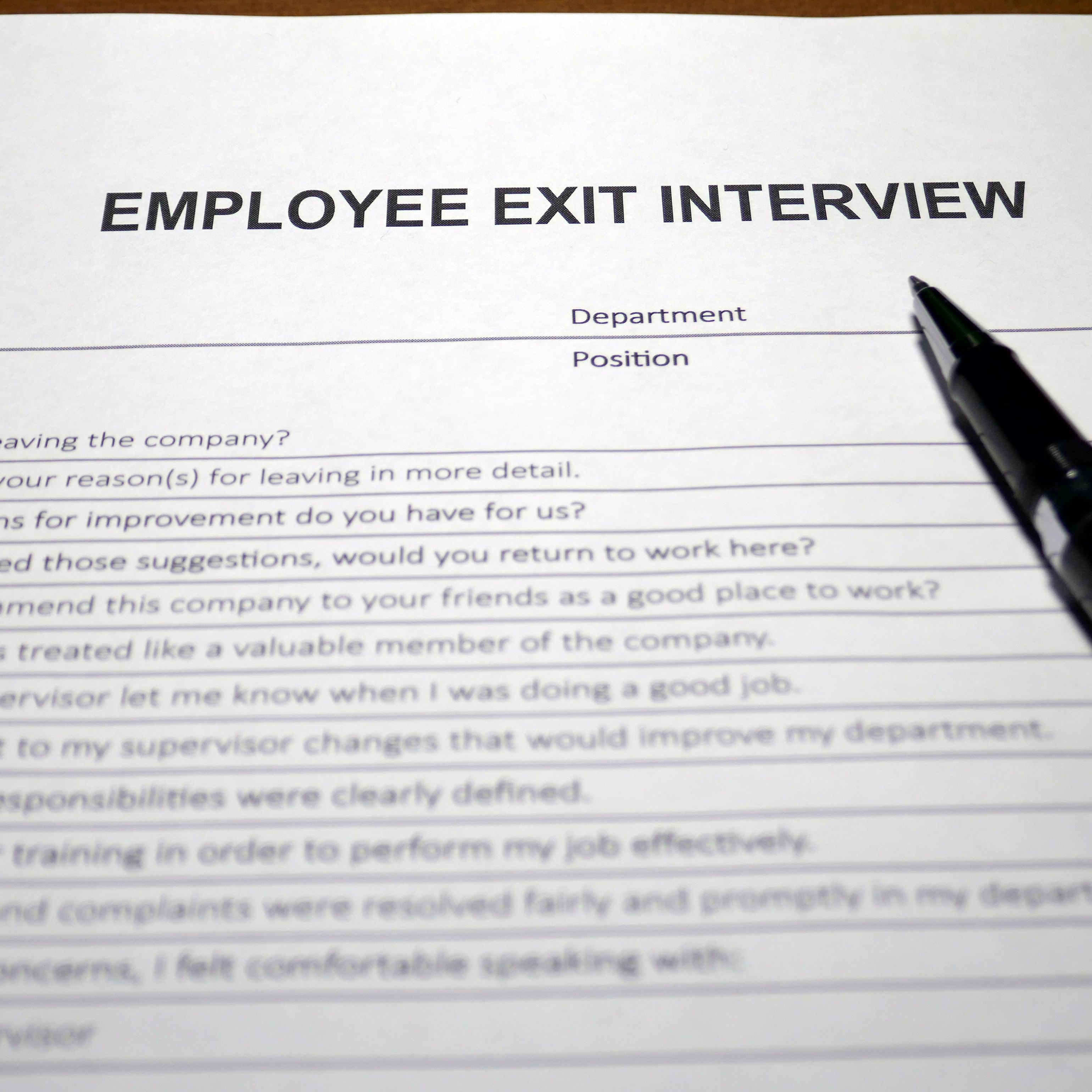How Exit Interviews Give You Employee Retention Information