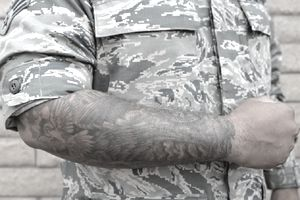 Tattoos And Piercings In The Military