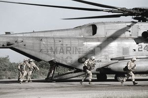 U.S. Marines Landing in Somalia for Famine Relief