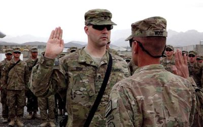 Oath of Enlistment for Military Service