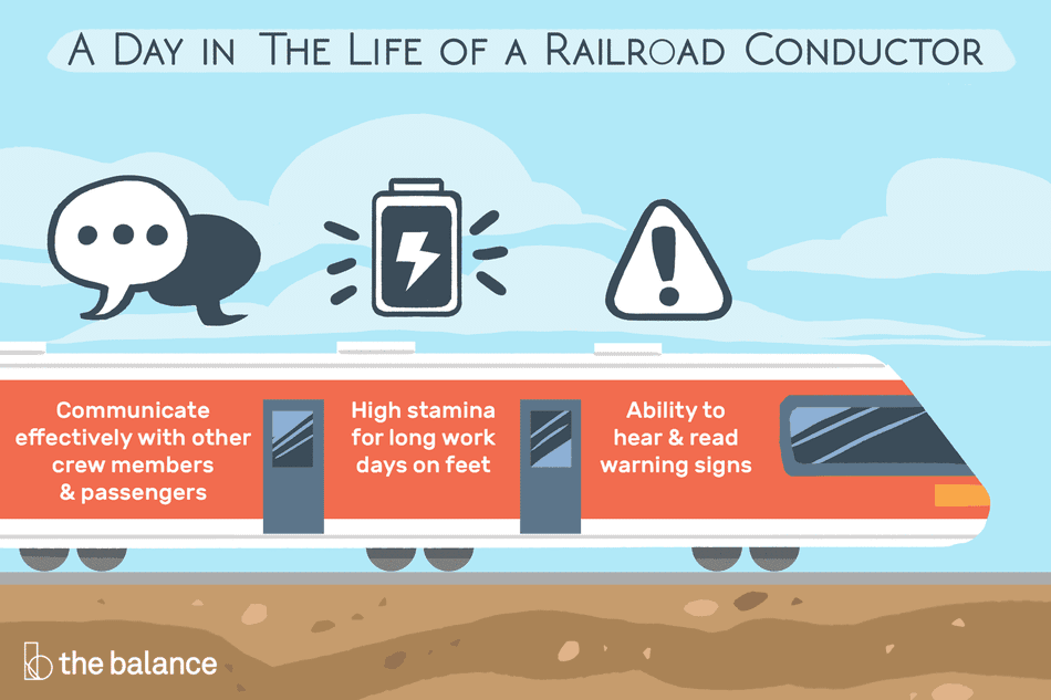 a day in the life of a railroad conductor