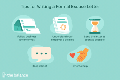 Sample Absent Excuse Letters For Missing Work