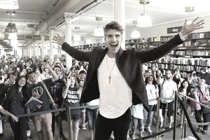 Joey Graceffa Signs Copies Of His Book 'In Real Life: My Journey To A Pixelated World'