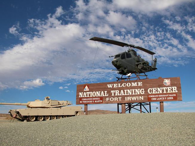Military Installation Overview, Fort Irwin, California