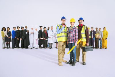 Different types of union workers