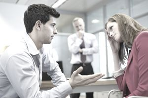 Supervisor has delivered a formal written reprimand for an employee to improve her performance with a neutral witness.