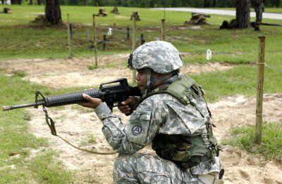 Fort Benning is home to Army infantry training.