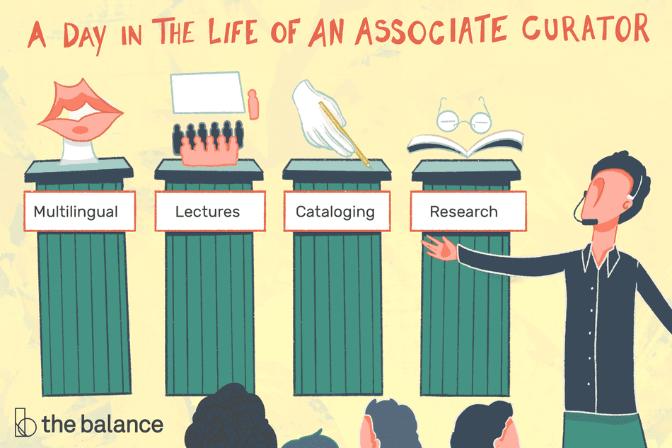a day in the life of an associate curator