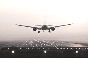 The center of gravity of an aircraft is important during takeoff and landing.