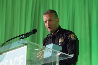 A police chief must be comfortable addressing the public and answering questions.