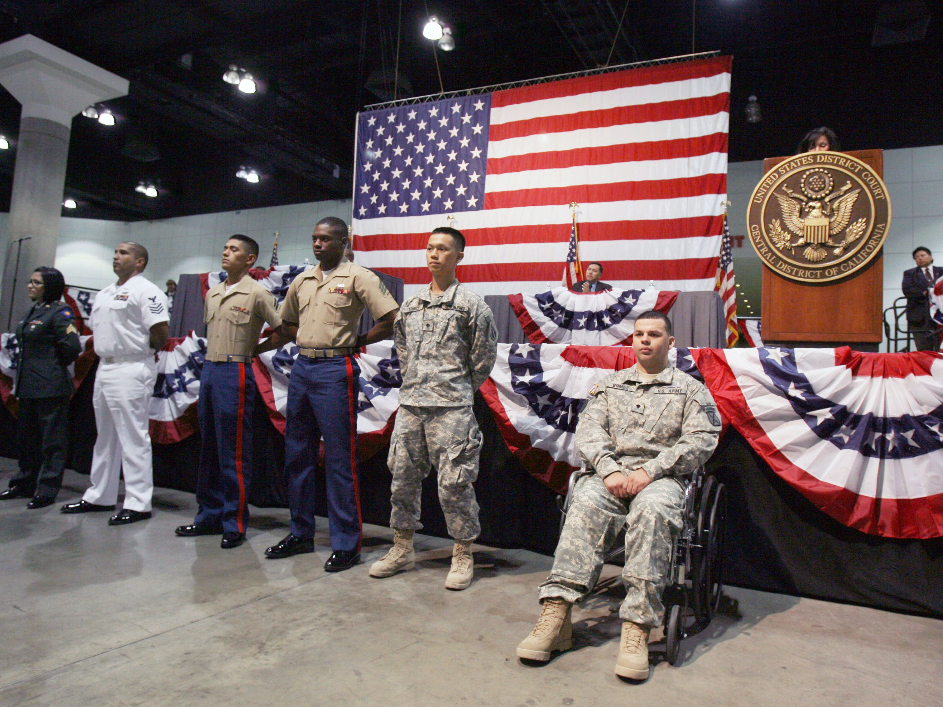 Can Non-U S  Citizens Join the United States Military?