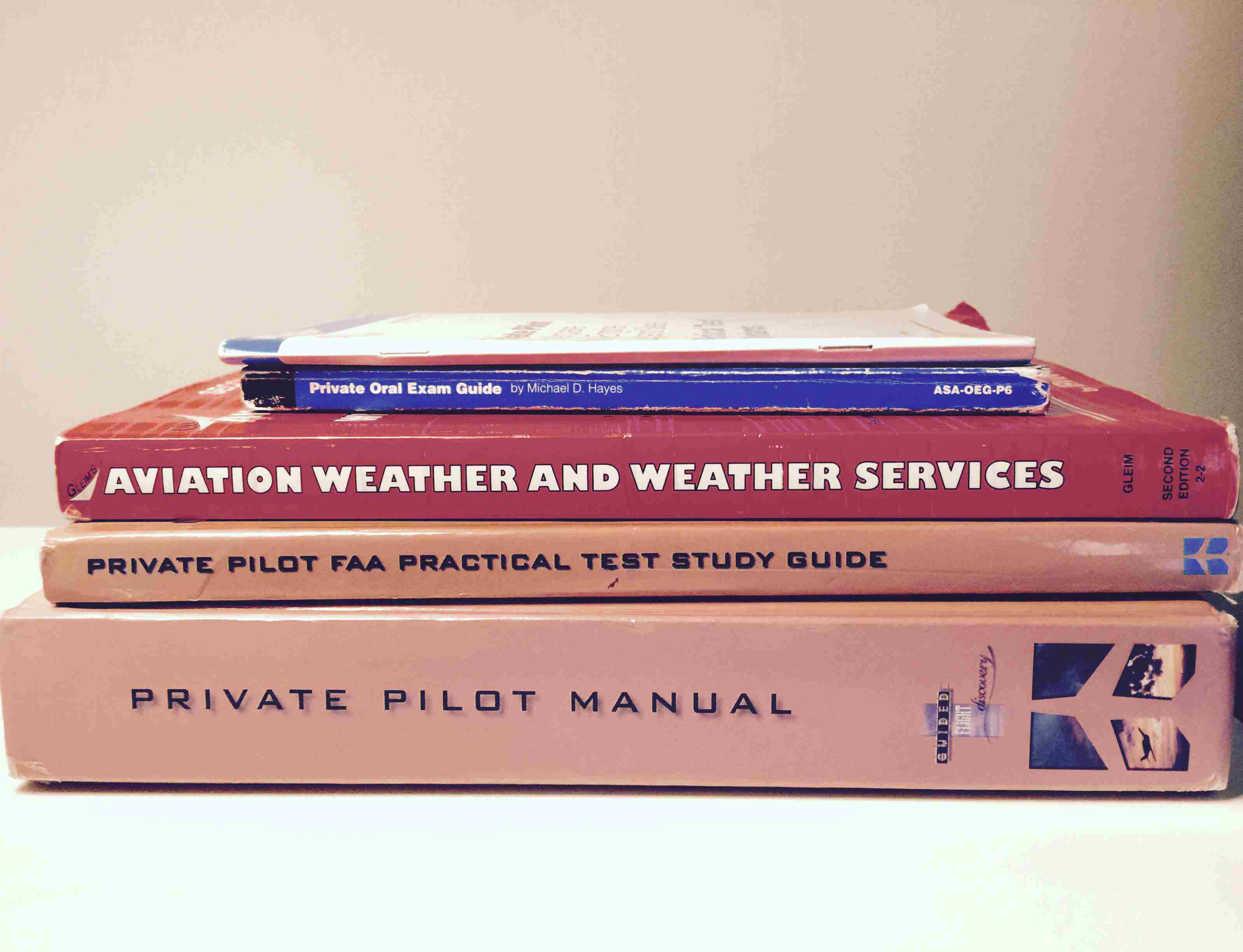 Books for Private Pilot Flight Training