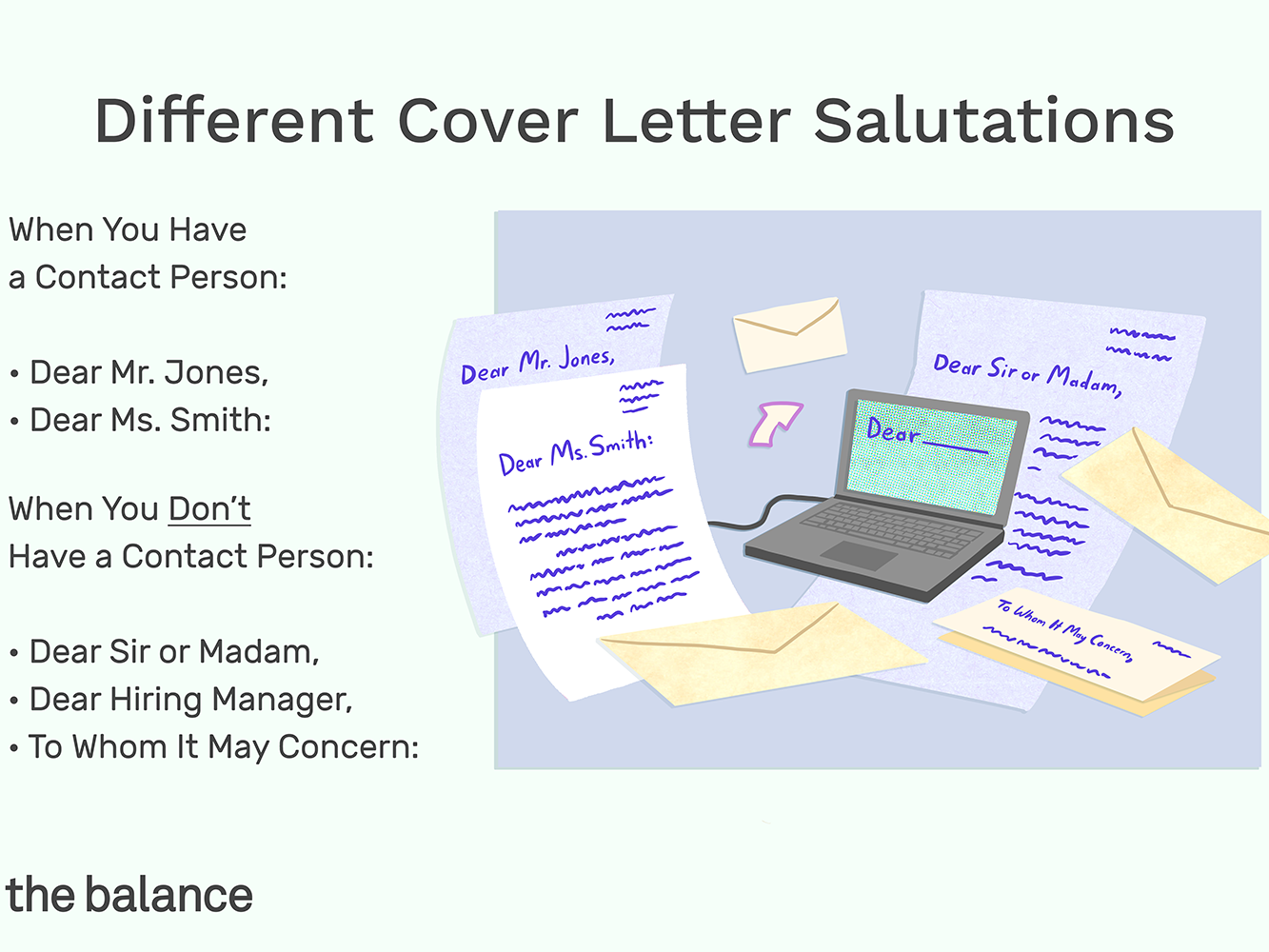 Cover Letter Closing Salutations from www.thebalancecareers.com