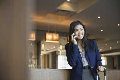 businessperson on phone