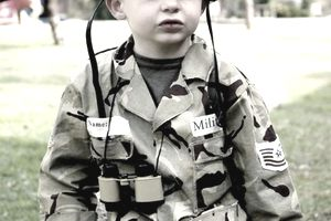 little soldier Halloween