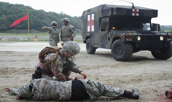 Combat Medics in Different Military Branches