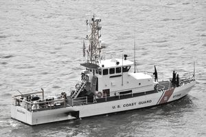 U.S. Coast Guard patrol boat