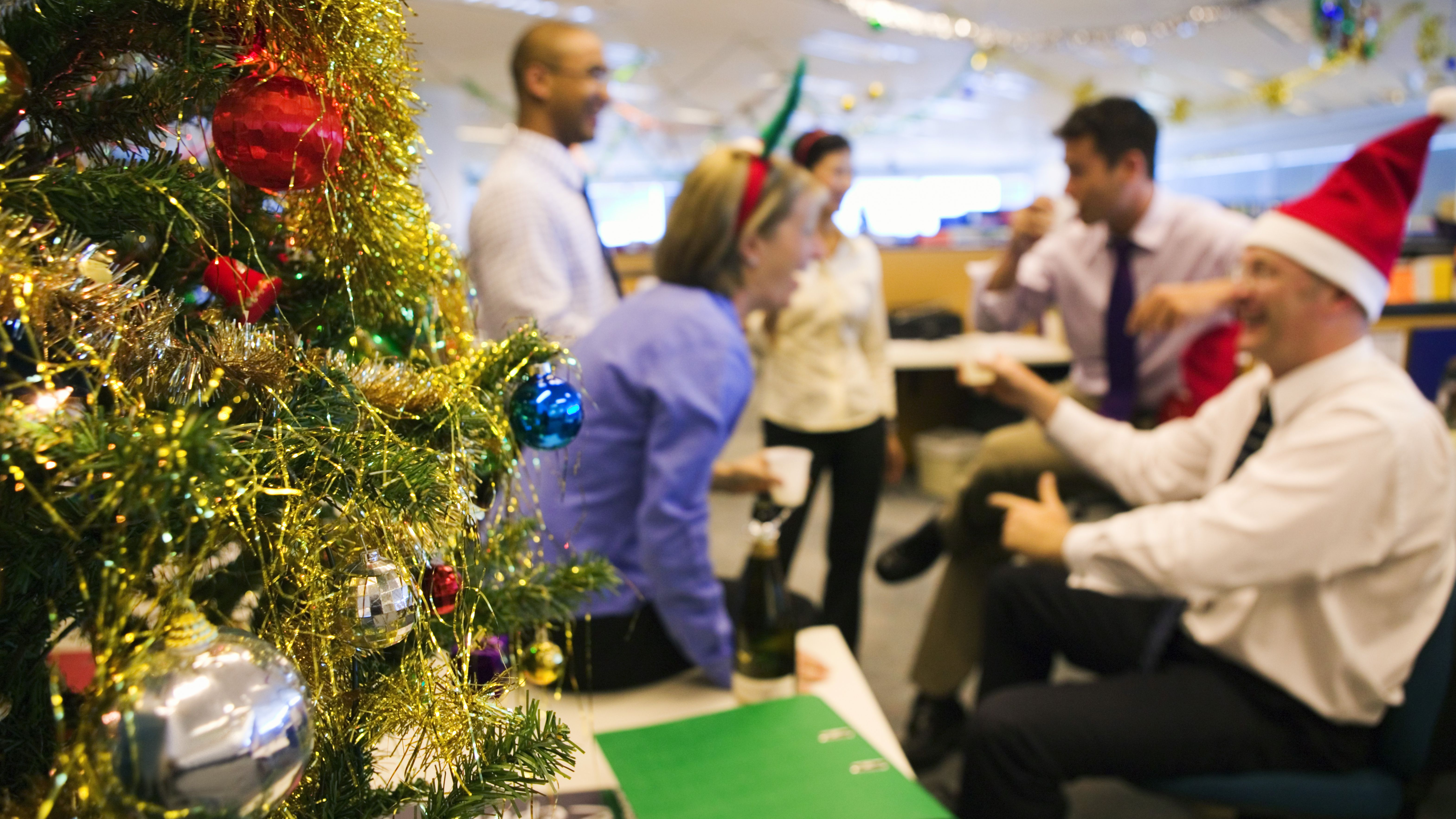 Holiday Christmas Party.How To Plan Office Holiday Parties In Lean Years