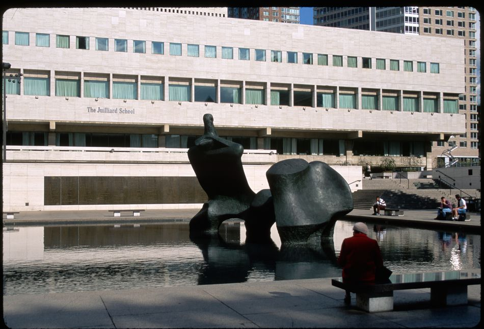 Pool and Sculpture at Lincoln Center
