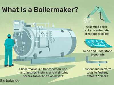 What is a boilermaker: A boilermaker is a tradesperson who manufactures, installs, and maintains boilers, tanks, and closed vats, assemble boiler tanks by automatic or robotic welding, read and understand blueprints, inspect and perform test to find any defects or leaks