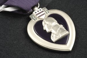 Purple Heart Close Up