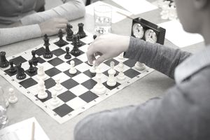 students playing chess as an extracurricular activity