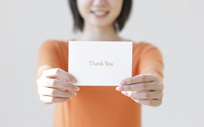 sample thank you letters for helping with a project