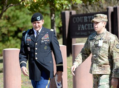 Bowe Bergdahl's Sentencing Continues, After He Pleaded Guilty To Desertion And Misbehavior
