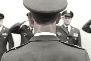 Officer in the Army