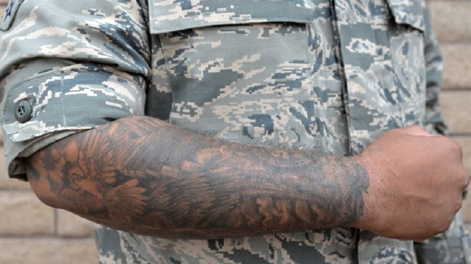 Air Force Tattoo and Piercing Policy
