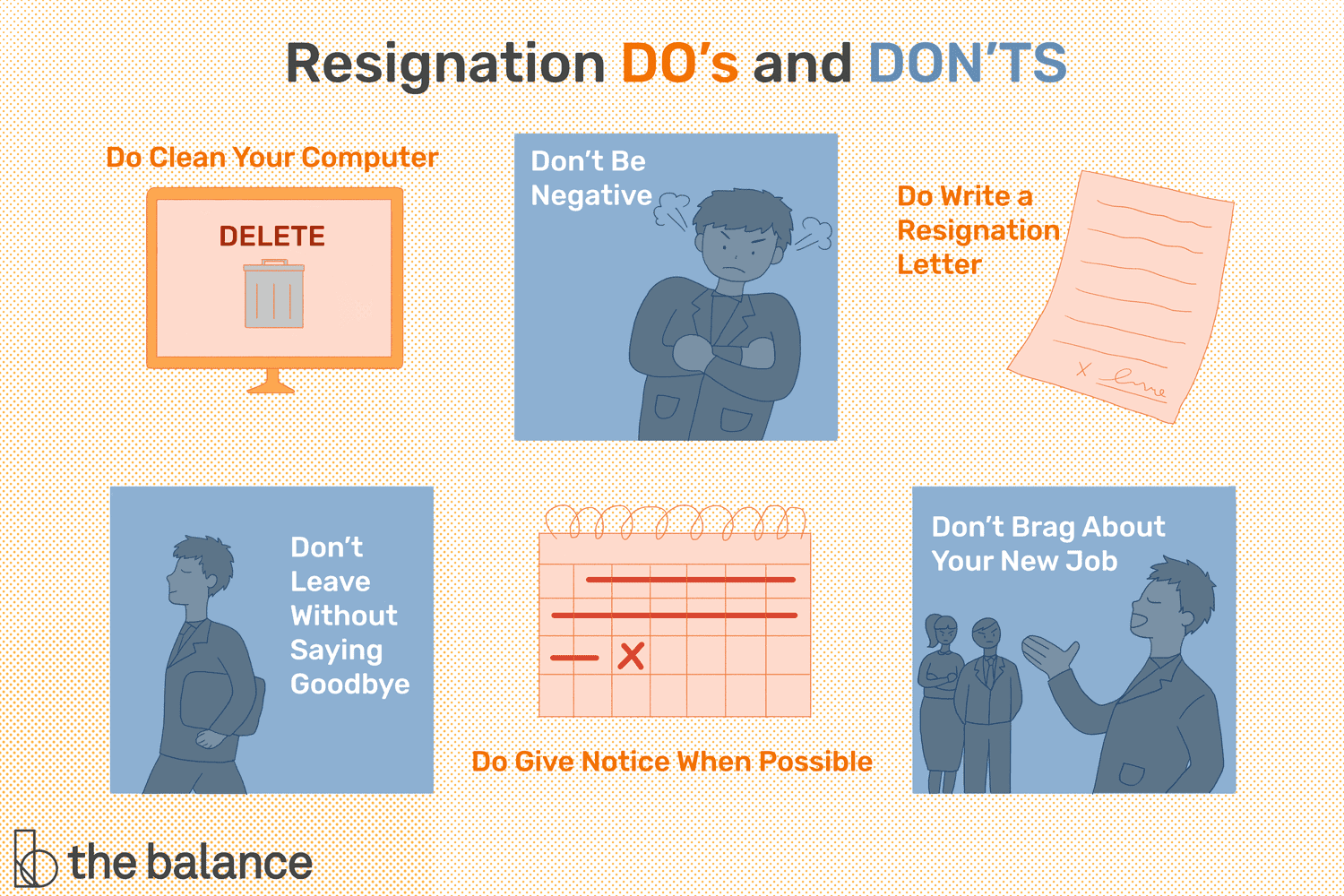 Resignation Do's and Don'ts