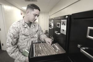 Cherry Point service records transition online