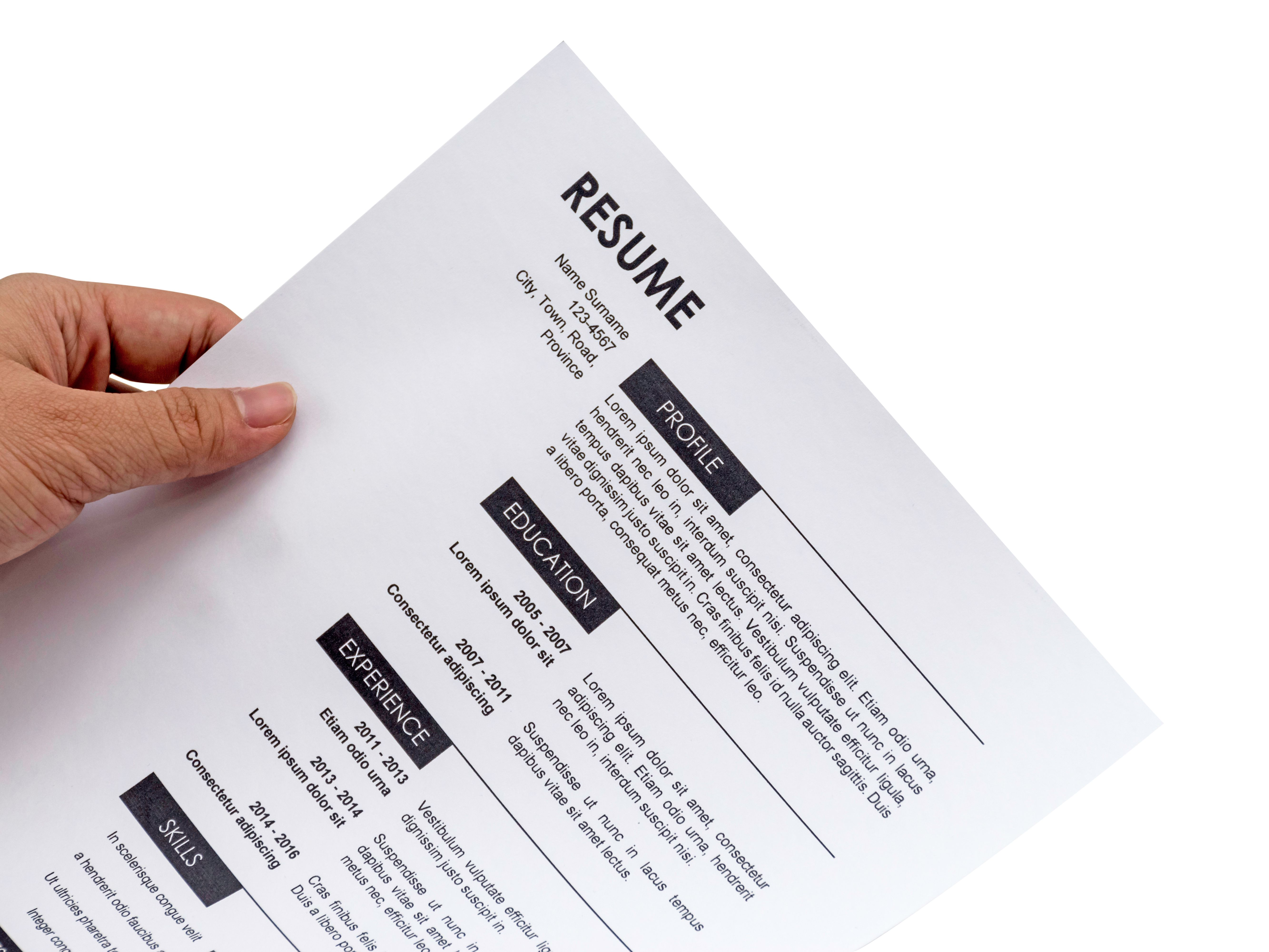 Resume And Cover Letter Samples And Templates