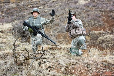 air force snipers in iraq sgts knoll and jones