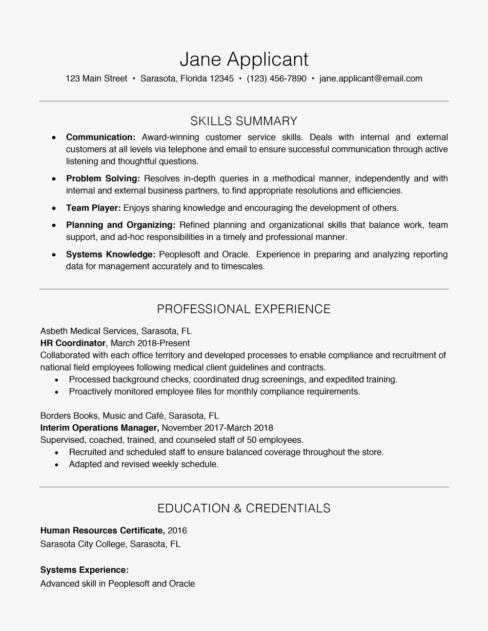 what are skills on a resume