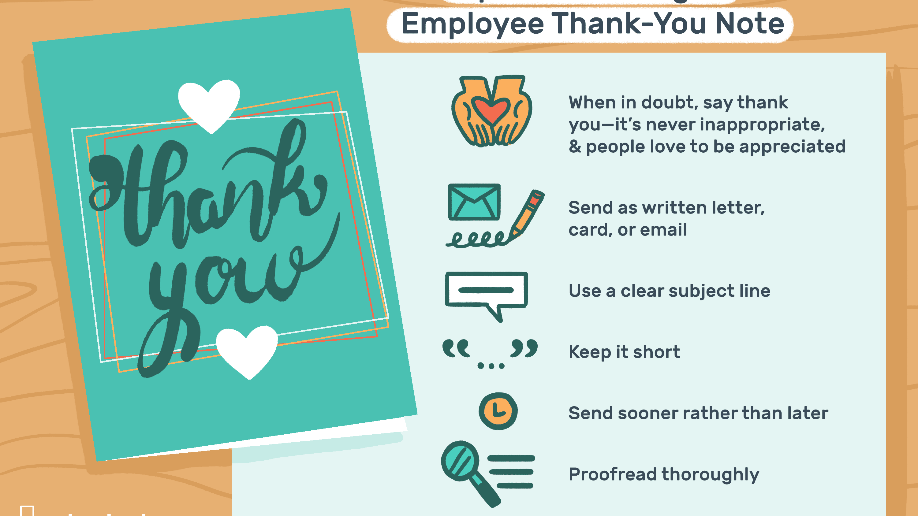 Thank You Letter For Employee from www.thebalancecareers.com