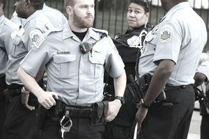 police officers in Washington D.C.