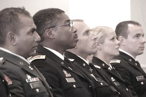 Virginia Guard Warrant Officer Recognition Ceremony