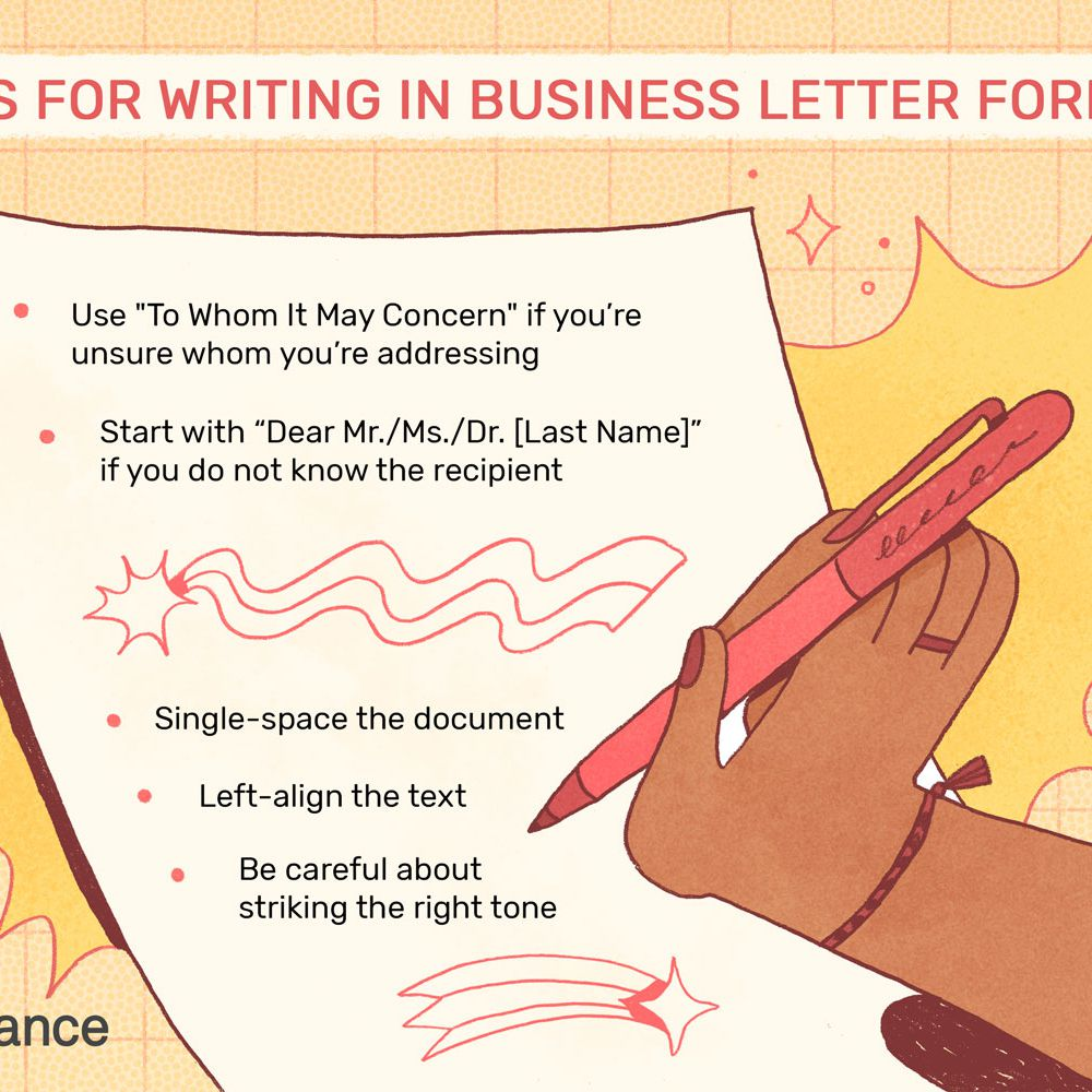 Business Form Letter Template from www.thebalancecareers.com