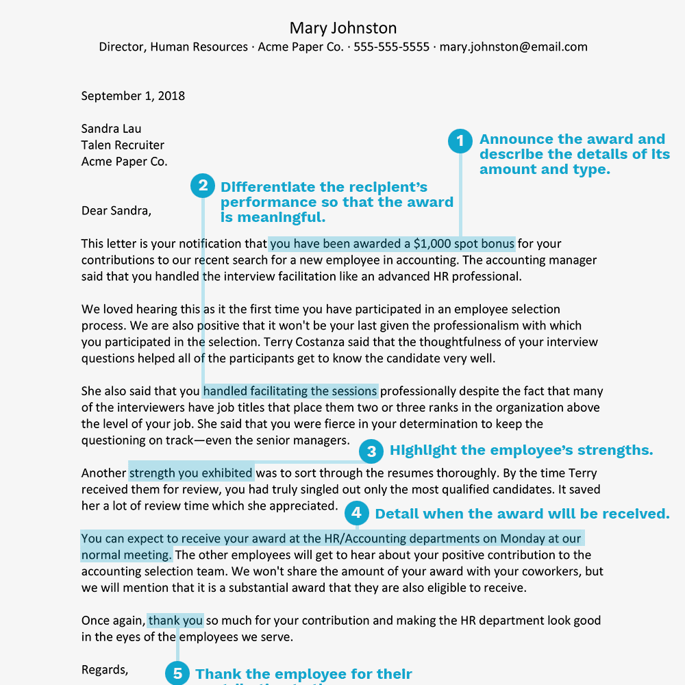 My Mother Essay In English Screenshot Of An Award Letter To Recognize An Employee High School Admission Essay Samples also Essay My Family English How To Write An Award Letter To Recognize An Employee Example English Essay