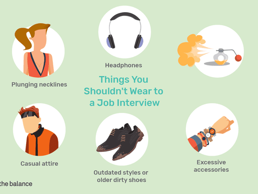 Things You Shouldn't Wear To a Job Interview