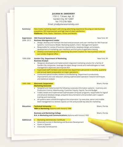 How many pages a resume should be a one page resume altavistaventures Gallery