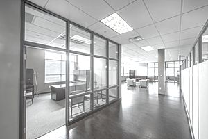 Empty Office-HDR