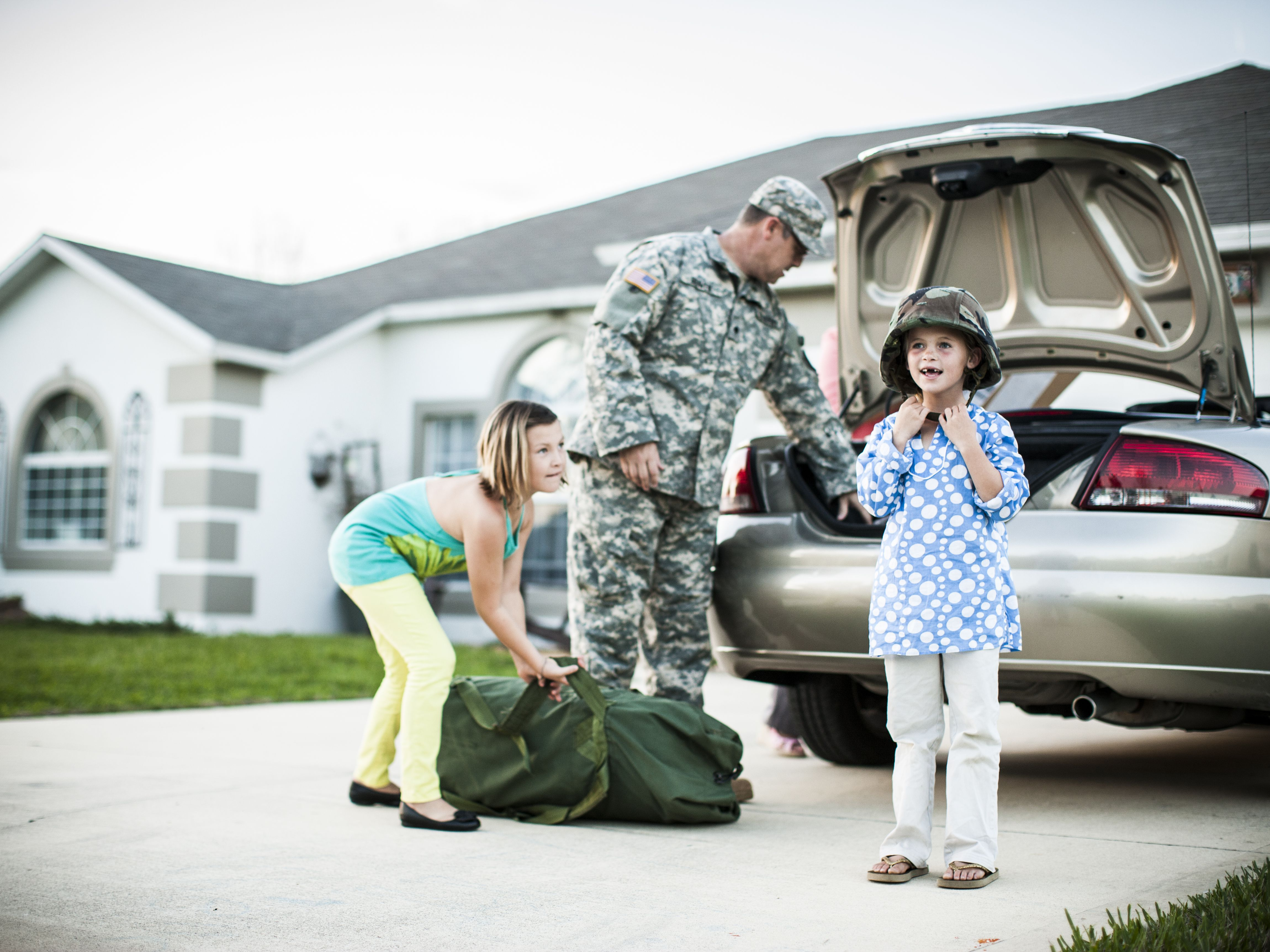 texas military drivers license laws