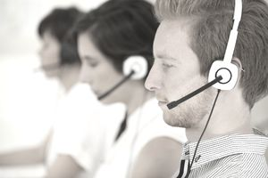 call center workers
