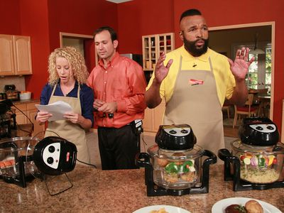 Mr. T and the Turbo Oven
