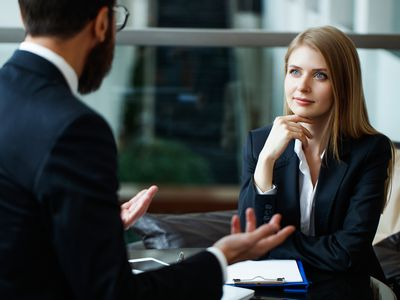 Employee interview for lateral job move within the company