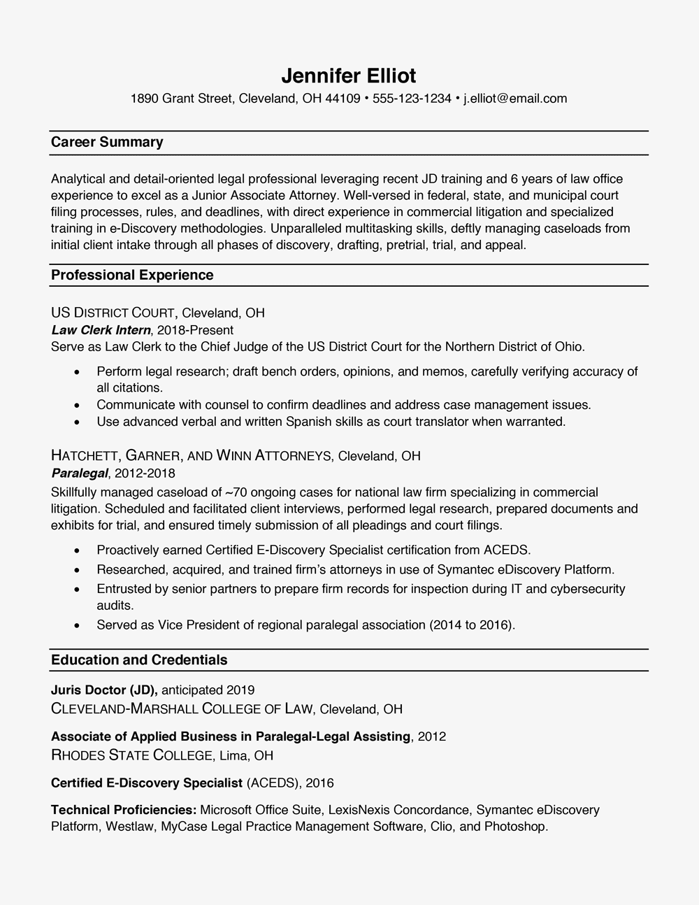resume formatswith examples and formatting tips