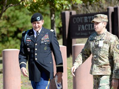 Bowe Bergdahl is a famous example of a soldier being charged with AWOL and desertion of duty.