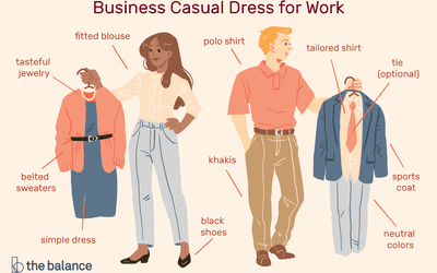 5f1a29f2f6f7 What Business Casual Dress for Work Looks Like on Employees
